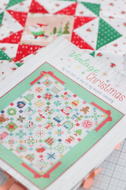 Christmas Quilt Patterns: Vintage Christmas book by Lori Holt