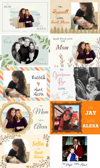 How to make your own personalized quilt labels with Photos