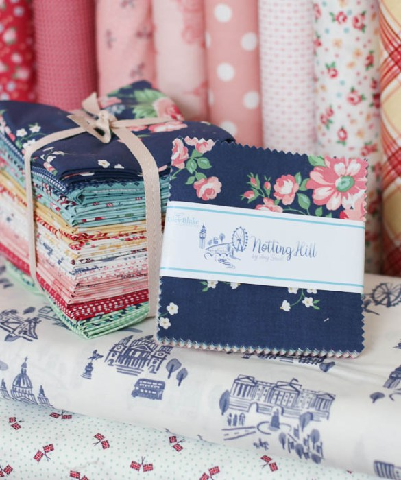 Notting Hill - London themed fabric collection for Riley Blake Designs