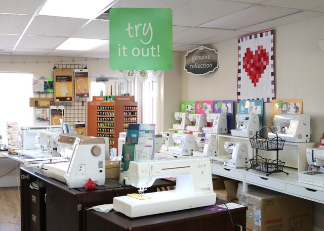 How to Choose a Sewing Machine for Quilting, tips featured by top US quilting blogger,  Diary of a Quilter - Visit a Baby Lock sewing machine dealer to test all of their popular machines