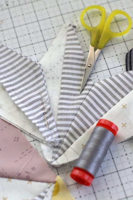 Hand-pieced quilt blocks Diary of a Quilter