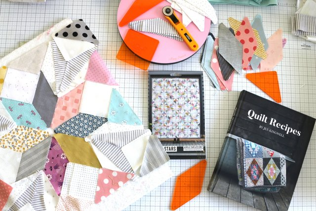 New book Quilt Recipes by Jen Kingwell