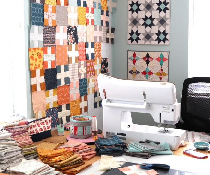 Fall Sewing with Baby Lock