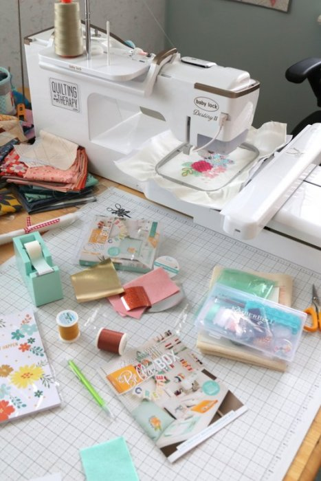 Machine Embroidery and Applique with Baby Lock