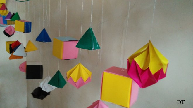 Wall Decor Using Origami