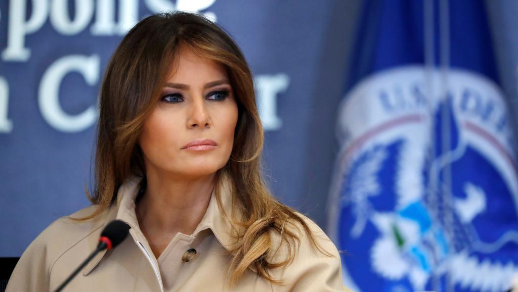 Etats-Unis: Melania Trump s'exprime sur la question de l'immigration