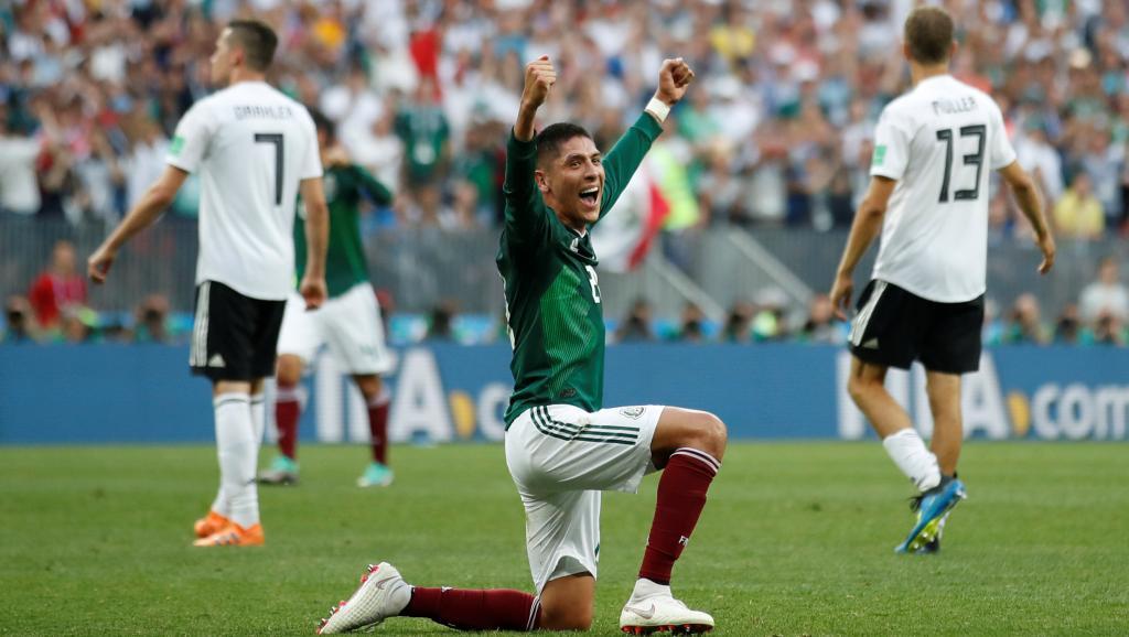 Mondial 2018: un énorme Mexique fait tomber les champions du monde allemands
