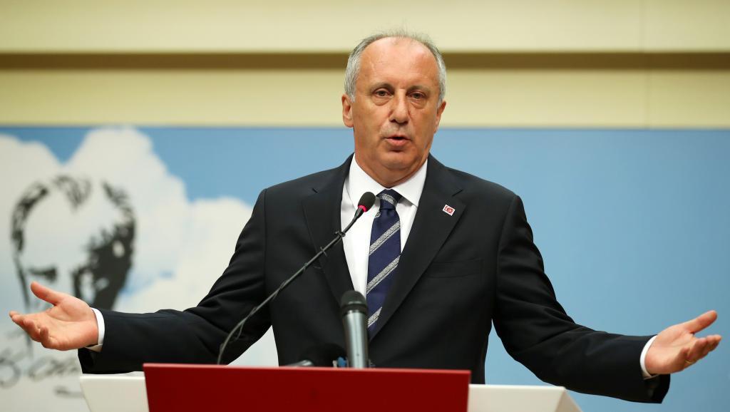 Turquie: Muharrem Ince entend poursuivre son combat politique