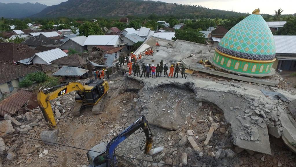 Indonésie: l'île de Lombok frappée par un nouveau séisme de magnitude 6,2