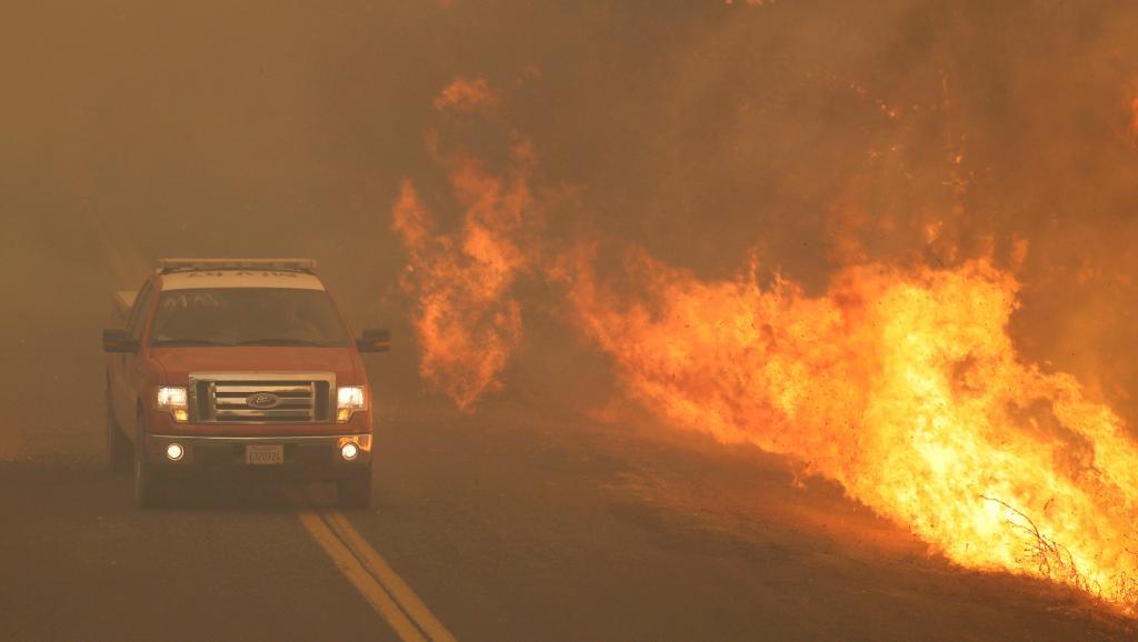 Etats-Unis: l'incendie «Carr Fire» fait un septième mort en Californie