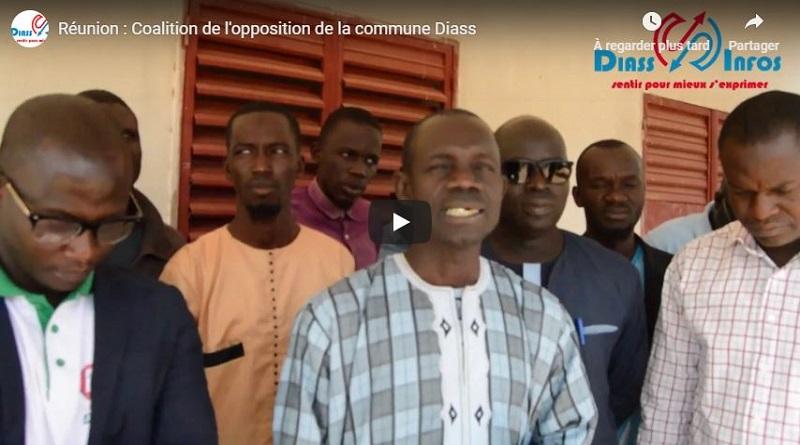 Réunion : Coalition de l'opposition de la commune Diass
