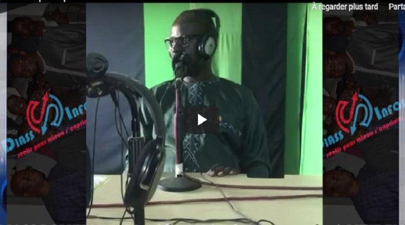 Diass / politique : Mr Cheikh Tidiane Diouf a cœur ouvert à luxe fm.