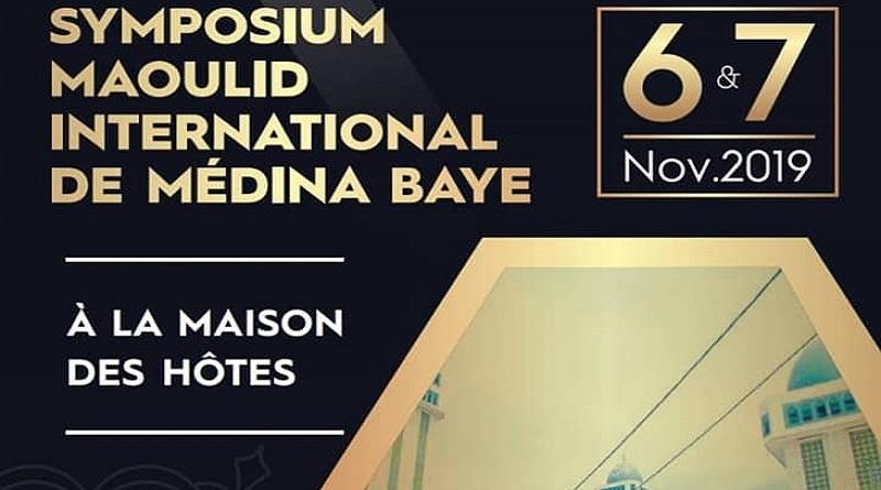 Symposium International Mawlid Medina Baye 2019 (6-7 Novembre 2019, Maison des Hôtes Médina Baye, Kaolack)
