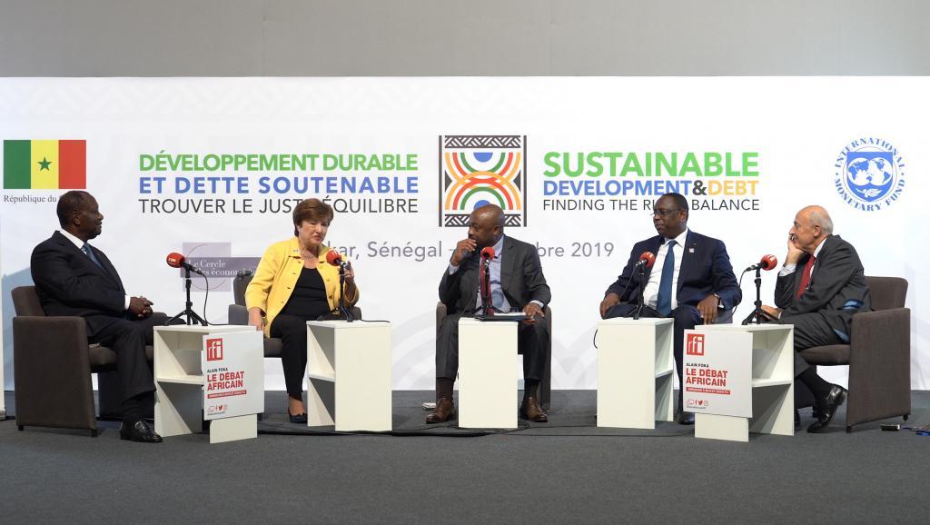 L'Afrique surendettée? Avec Alassane Ouattara, Macky Sall et Kristalina Georgieva