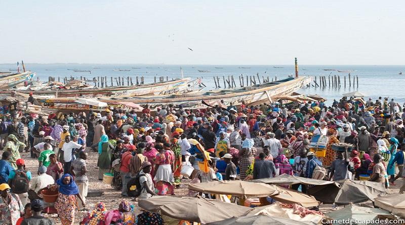 COVID-19 : L'inquiétude des vendeurs de poissons a Diass qui pars tous les jours a Mbour.