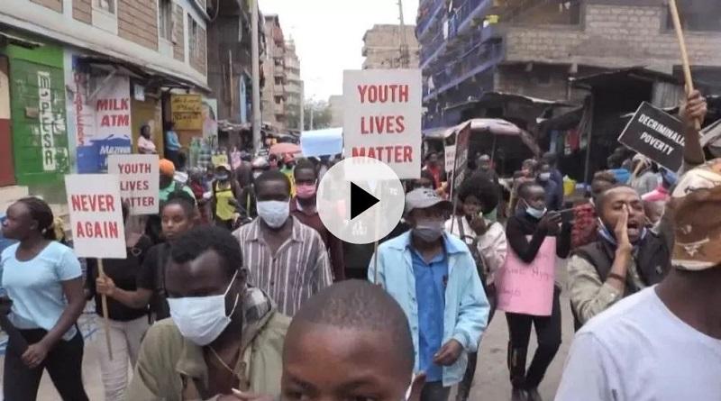 Manifestations contre les violences policières à travers l'Afrique