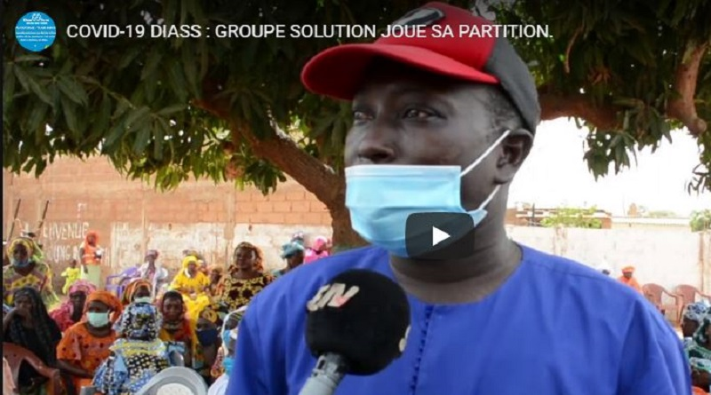 COVID-19 DIASS : GROUPE SOLUTION JOUE SA PARTITION.