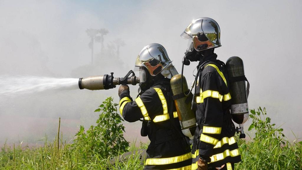 Exercices sur feux réels à l'aéroport Dakar Blaise Diagne