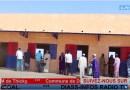 COMMUNE DE DIASS : Dangoté inauguration de 2 salles de classe, un bloc administratif et 2 blocs sanitaires au CEM de Thicky.