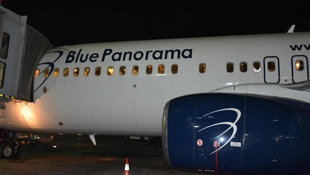 Vols réguliers sur le Sénégal : Le premier de Blue Panorama arrive plein à l'aéroport Dakar Blaise Diagne