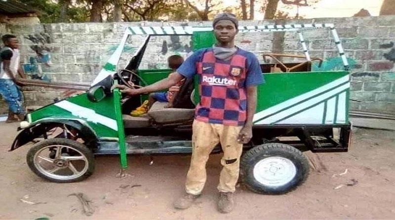 Nouveau véhicule made in Senegal fabriqué par un mécanicien