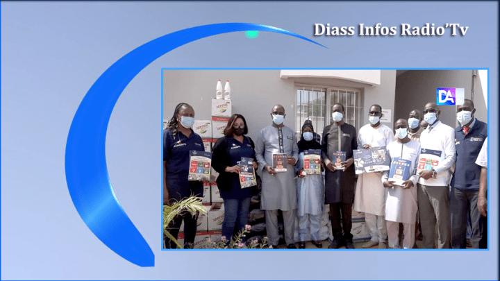 Diass-Mont Rolland : Des fournitures scolaires et produits sanitaires offerts aux deux communes par Dangote Cement Senegal.