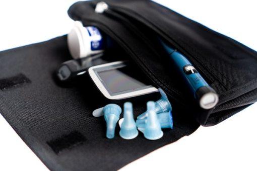 Diabetes Zubehör Tasche