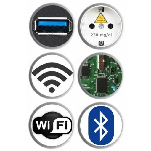 FreeStyle Libre 3 Sensor Sticker Technik