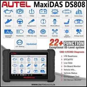Autel Maxidas DS808 Diatools 1A