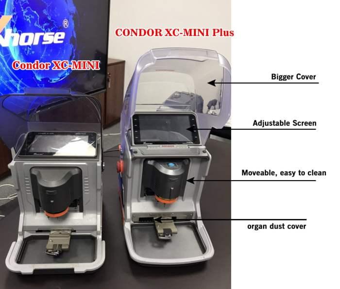 Xhorse Condor XC-Mini Plus Key Cutting Machine