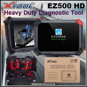 XTOOL EZ500 HD Heavy Duty Diatools 1A