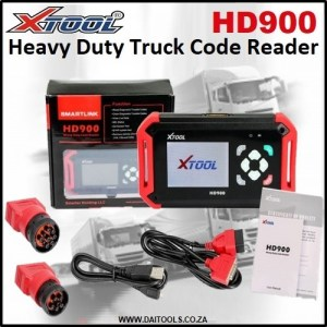 XTOOL HD 900 Heavy Duty Truck Diatools 1A
