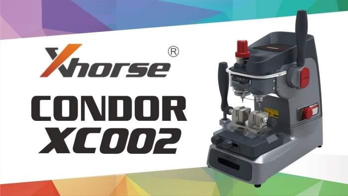 Xhorse Condor XC002 Mechanical Key Cutting Machine