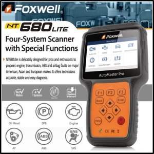 Foxwell NT680 Lite Diatools 1A