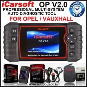 iCarsoft OP V2.0 Diatools 1B