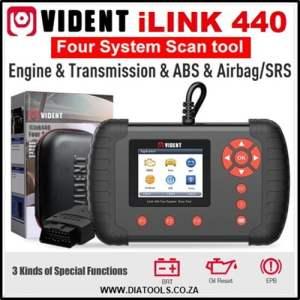 VIDENT iLink440 Diatools 1B