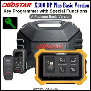 OBDSTAR X300 DP Plus Basic Version Diatools 1C