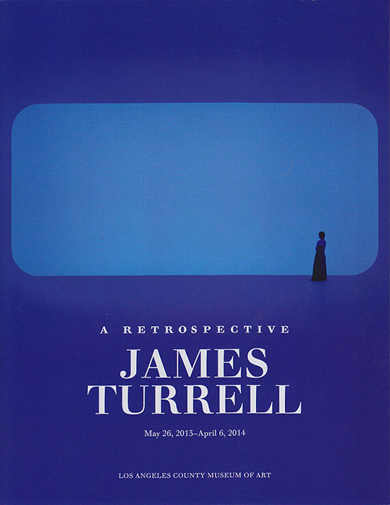 Cover: James Turrell Brochure