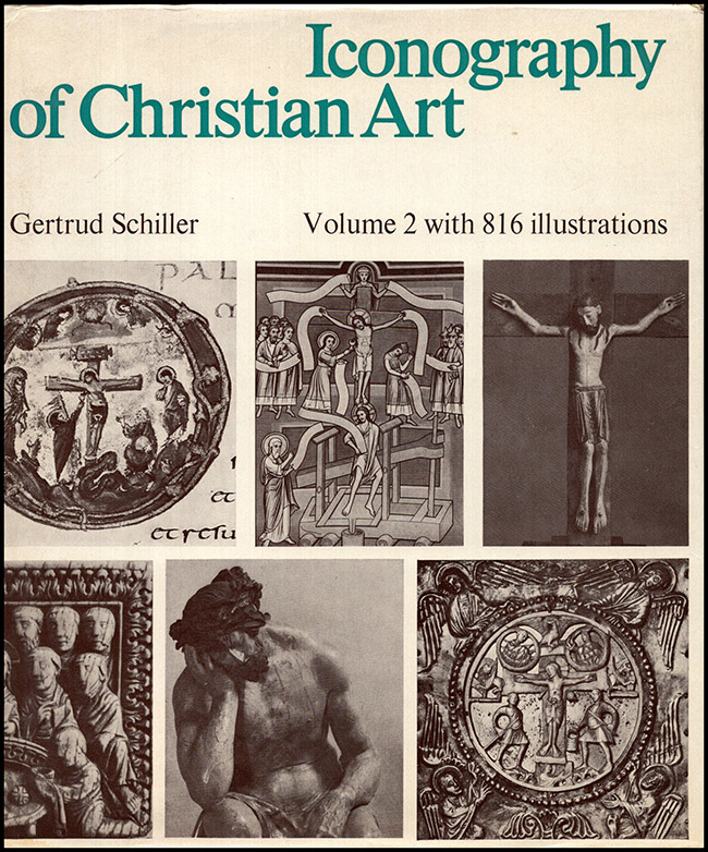 Iconography of Christian Art (Volumes I and II), book cover