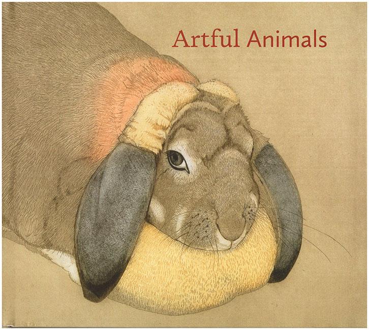 Book Cover. Artful Animals.