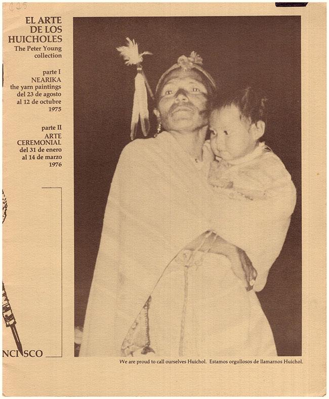 Back Cover. Galeria dela Raza. El Arte de los Huicholes: The Peter Young Collection (30487)