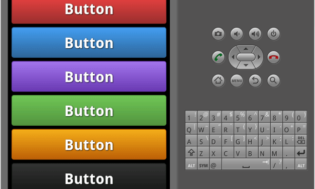 Gradient buttons for android