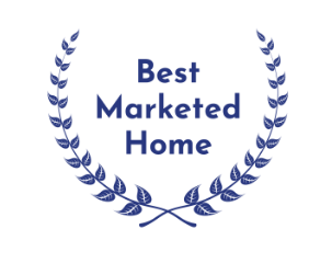 Best Marketed Home