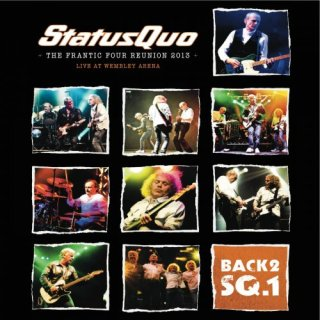 Status Quo ‎- The Frantic Four Reunion 2013 (Live At Wembley Arena) (2013)