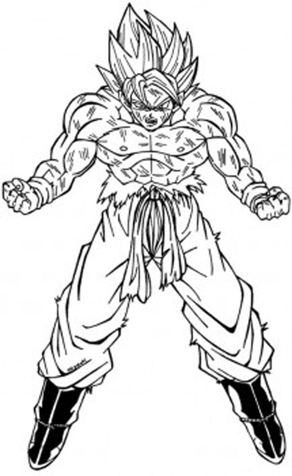 Imagenes De Goku Para Dibujar A Lapiz De Fase 4 Facil On Log Wall