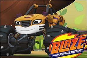personaje rayas blaze monster machines