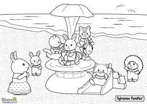 colorear-animalels-en-la-playa