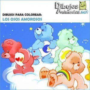 dibujos-para-colorear-osos-amorosos
