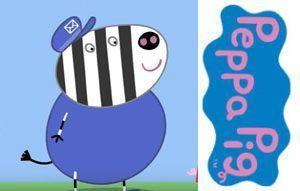 zebra-cartero-peppa-pig