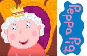 la-reina-en-peppa-pig